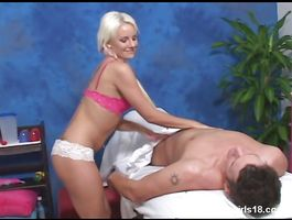 Fresh blond young Eve Nicholson can't wait to be fucked hard