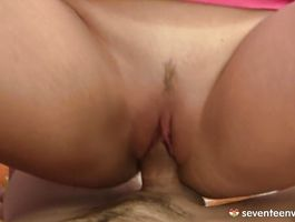 Fascinating blond Catherine E got fucked in a doggystyle position and then she wanted to be on top