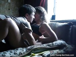 Hot-tempered barely legal sweetheart Tanya likes to fuck every boyfriend she falls for