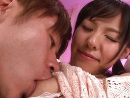 Mischievous minx Miyuki Nonomura is considering a sex offer from fella