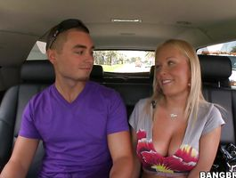 Astonishing blond playgirl Jessica Moore gets her wet love tube pounded