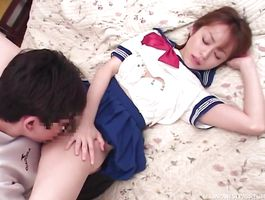 Recent girlfriend Moe Shinohara reaches her pinnacle so she is pleasured and wild